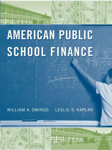 9780495807834: American Public School Finance