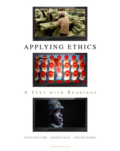 9780495807957: Applying Ethics: A Text with Readings, 10th Edition