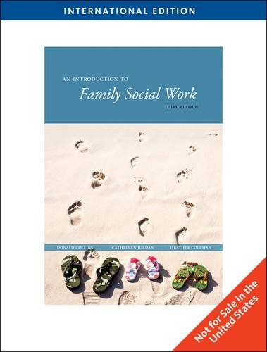 9780495808725: An Introduction to Family Social Work