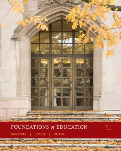 Foundations of Education (What's New in Education): Ornstein, Allan C.;