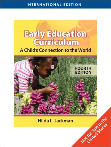 9780495809227: Early Childhood Curriculum: A Child's Connection to the World