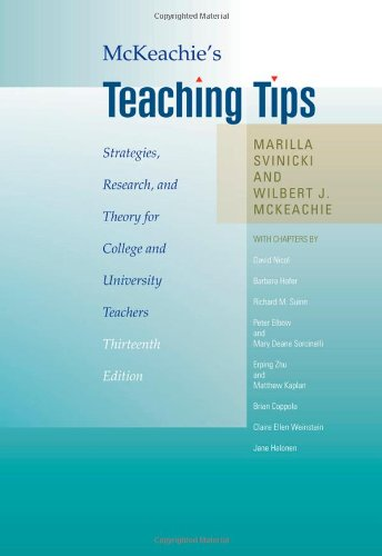 9780495809296: McKeachie's Teaching Tips: Strategies, Research, and Theory for College and University Teachers