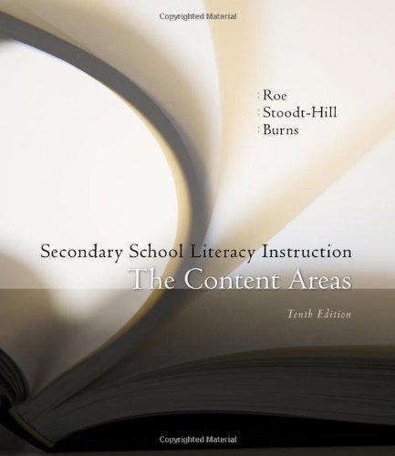 9780495809500: Secondary School Literacy Instruction (Available Titles CourseMate)
