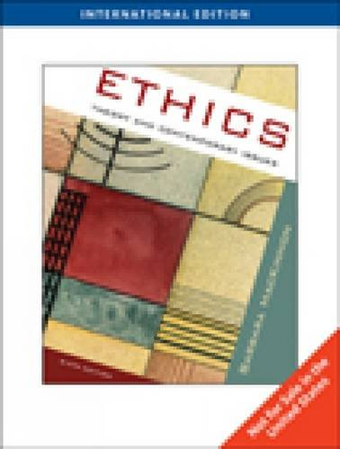 9780495809548: Ethics (Sixth Edition)