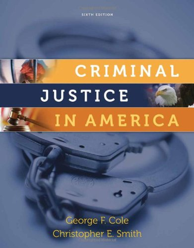 9780495809821: Criminal Justice in America (Available Titles CengageNOW)