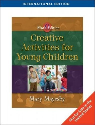 9780495809845: Creative Activities for Young Children (Ninth Edition)