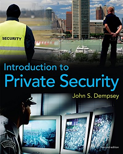 9780495809852: Introduction to Private Security