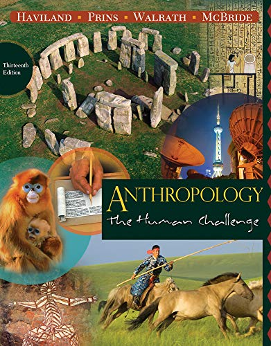 9780495810841: Anthropology: The Human Challenge