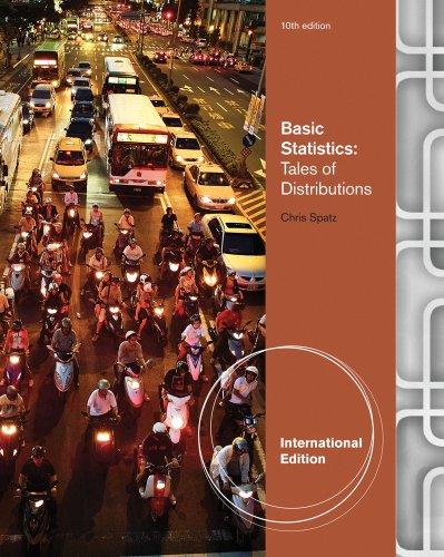 9780495811138: Basic Statistics: Tales of Distributions