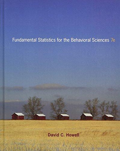 9780495811251: Fundamental Statistics for the Behavioral Sciences, 7th Edition