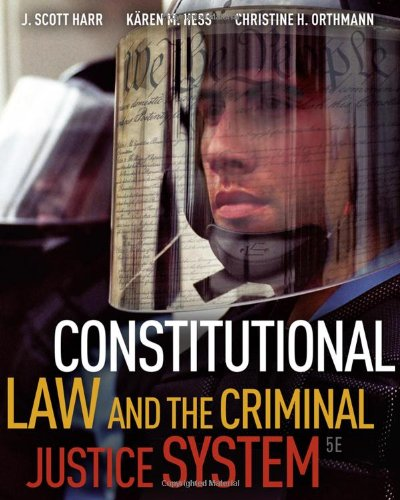 9780495811268: Constitutional Law and the Criminal Justice System, 5th Edition