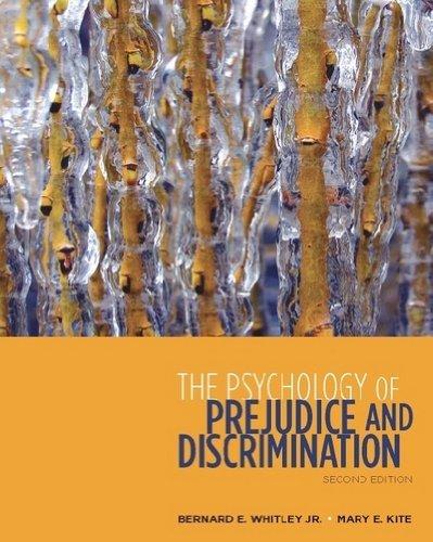 9780495811282: The Psychology of Prejudice and Discrimination