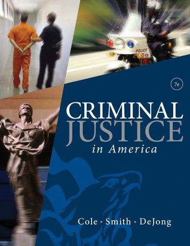 9780495811367: Cengage Advantage Books: Criminal Justice in America