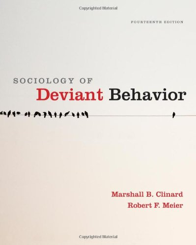 9780495811671: Sociology of Deviant Behavior