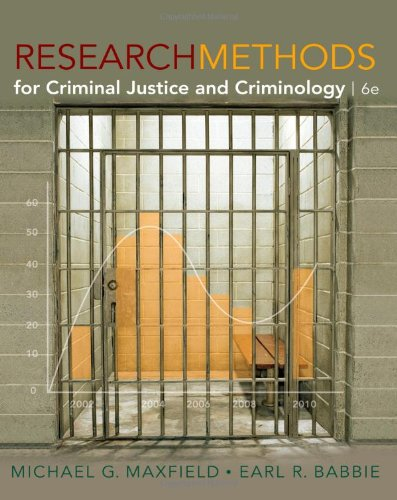 9780495811695: Research Methods for Criminal Justice and Criminology, 6th Edition