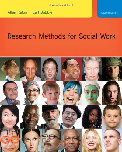 9780495811718: Research Methods for Social Work (SW 385R Social Work Research Methods)