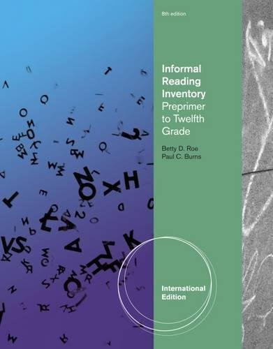 9780495812210: Informal Reading Inventory: Preprimer to Twelfth Grade, International Edition