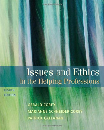 9780495812418: Issues and Ethics in the Helping Professions, 8th Edition (SAB 240 Substance Abuse Issues in Client Service)