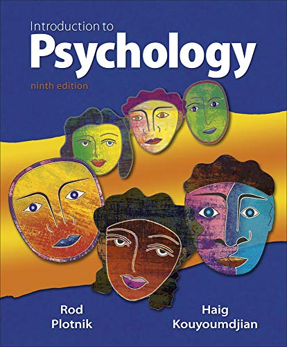 9780495812814: Introduction to Psychology, 9th Edition