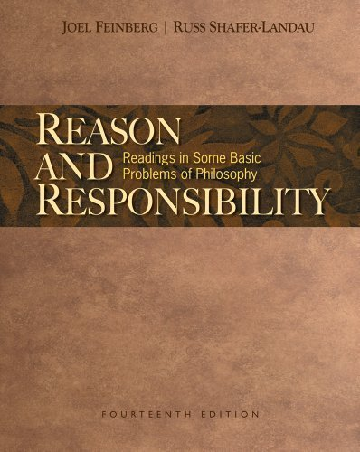 9780495812838: Reason and Responsibility: Readings in Some Basic Problems of Philosophy