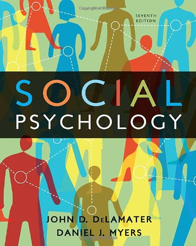 9780495812975: Social Psychology, 7th Edition