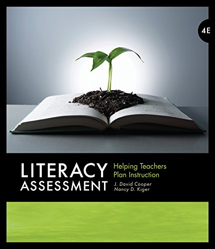 9780495813866: Literacy Assessment: Helping Teachers Plan Instruction (What's New in Education)