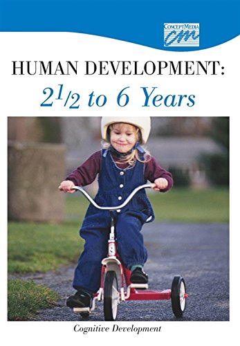 Human Development: 2 1/2 to 6 Years: Cognitive Development (DVD): Concept Media