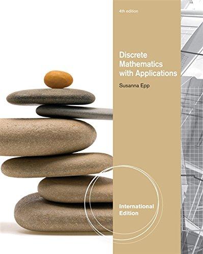 9780495826163: Discrete Mathematics with Applications, International Edition
