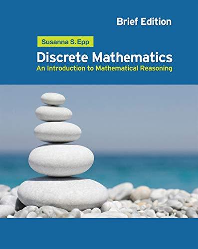 9780495826170: Discrete Mathematics: An Introduction to Mathematical Reasoning