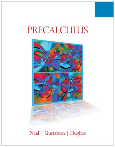 9780495826668: Student Solutions Manual for Neal/Gustafson/Hughes' Precalculus