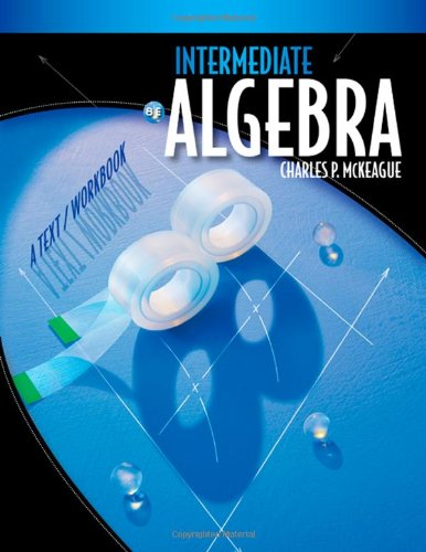 9780495826750: Intermediate Algebra: A Text/Workbook (Available 2010 Titles Enhanced Web Assign)