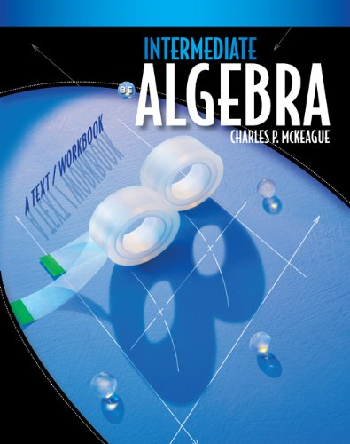 9780495826774: Student Solutions Manual for McKeague's Intermediate Algebra: A Text/Workbook, 8th