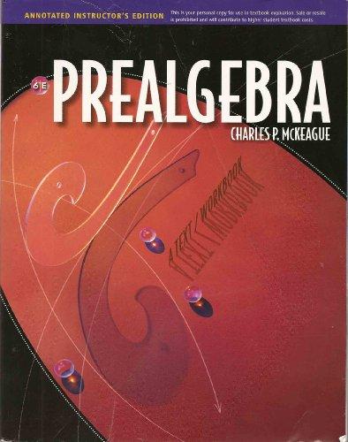 Aie Prealgebra 6e: Mckeague