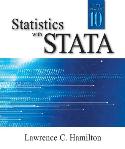 9780495828785: Statistics with STATA, International Edition