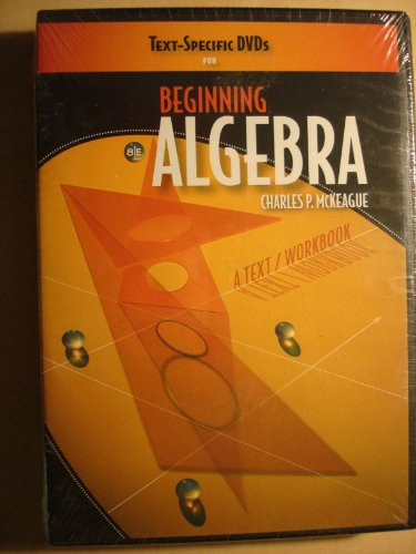9780495829126: Text-Specific DVD for McKeague's Beginning Algebra: A Text/Workbook, 8th
