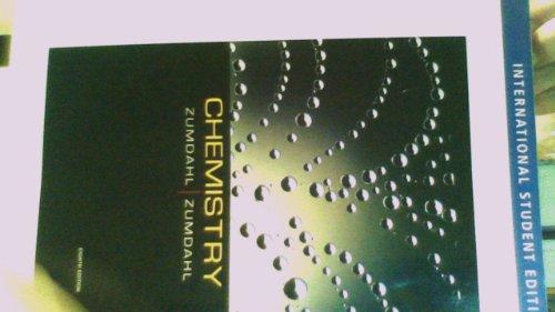 Zumdahl's Chemistry, 8e (International Student Edition): Zumdahl