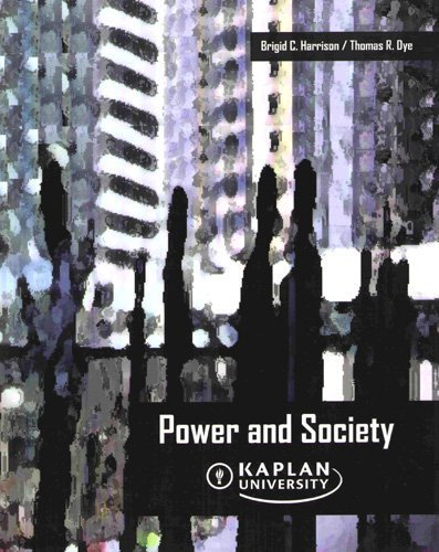 9780495831037: Power and Society