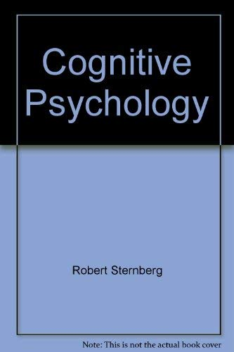 9780495831341: Cognitive Psychology
