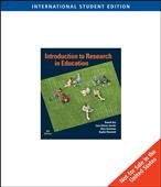 9780495832522: Introduction to Research in Education