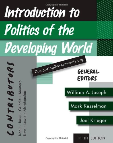 9780495833451: Introduction to Politics of the Developing World: Political Challenges and Changing Agendas