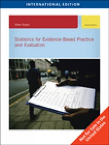 9780495834090: Statistics for Evidence-Based Practice and Evaluation, International Edition