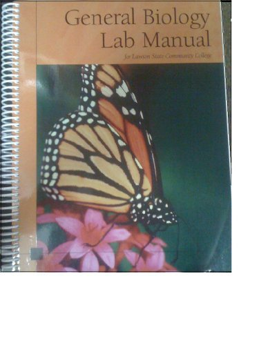 General Biology Lab Manual for Lawson State