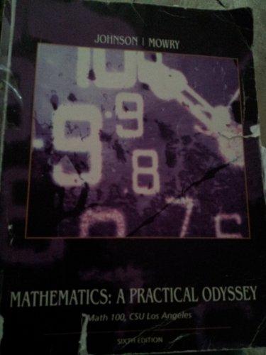 9780495838180: Mathematics: A Practical Odyssey