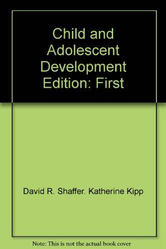 9780495838913: Child and Adolescent Development