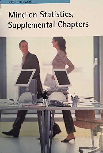 9780495839156: Mind on Statistics, Supplemental Chapters
