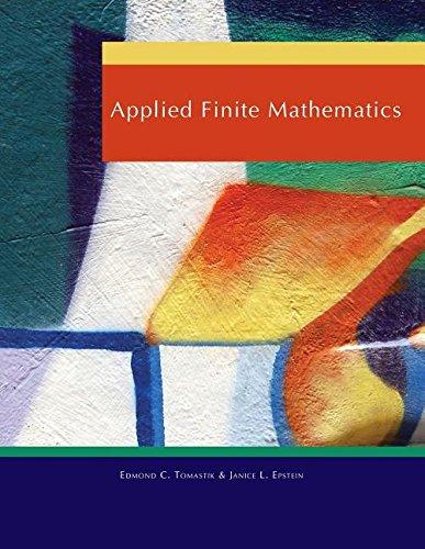 9780495839606: Applied Finite Mathematics