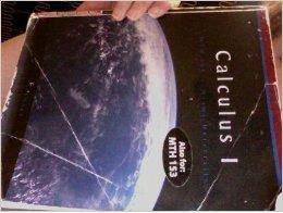 9780495840268: Calculus I, MTH 151 & 153, Miami University