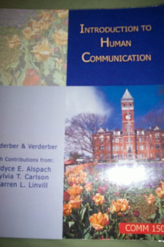 9780495840862: Introduction to Human Communication (COMM 150)