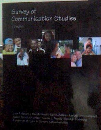 9780495840930: Survey of Communication Studies Com216