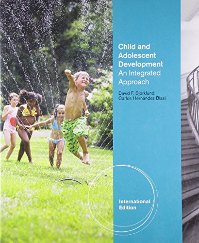 9780495897378: Child and Adolescent Development: An Integrated Approach